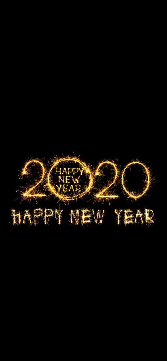 2020 happy new year 新年快乐