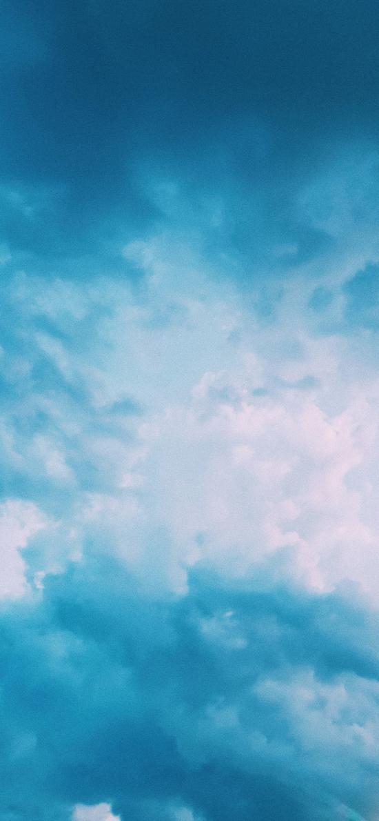 天空 蔚藍 云海 云層