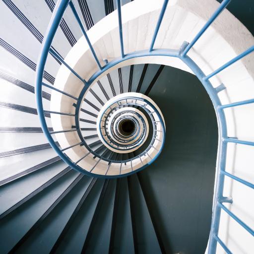 楼梯 旋转 阶梯 台阶
