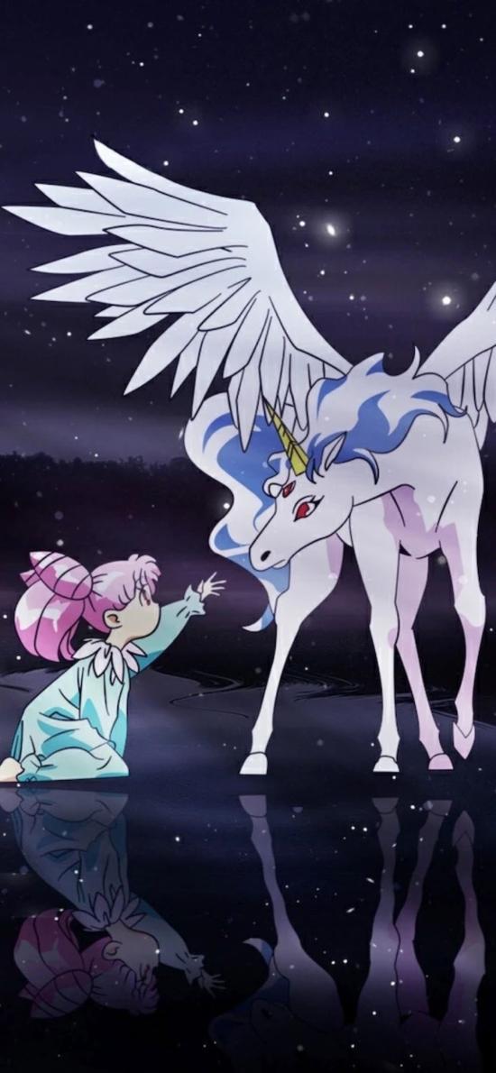 日漫 美少女戰士 白馬 夢幻