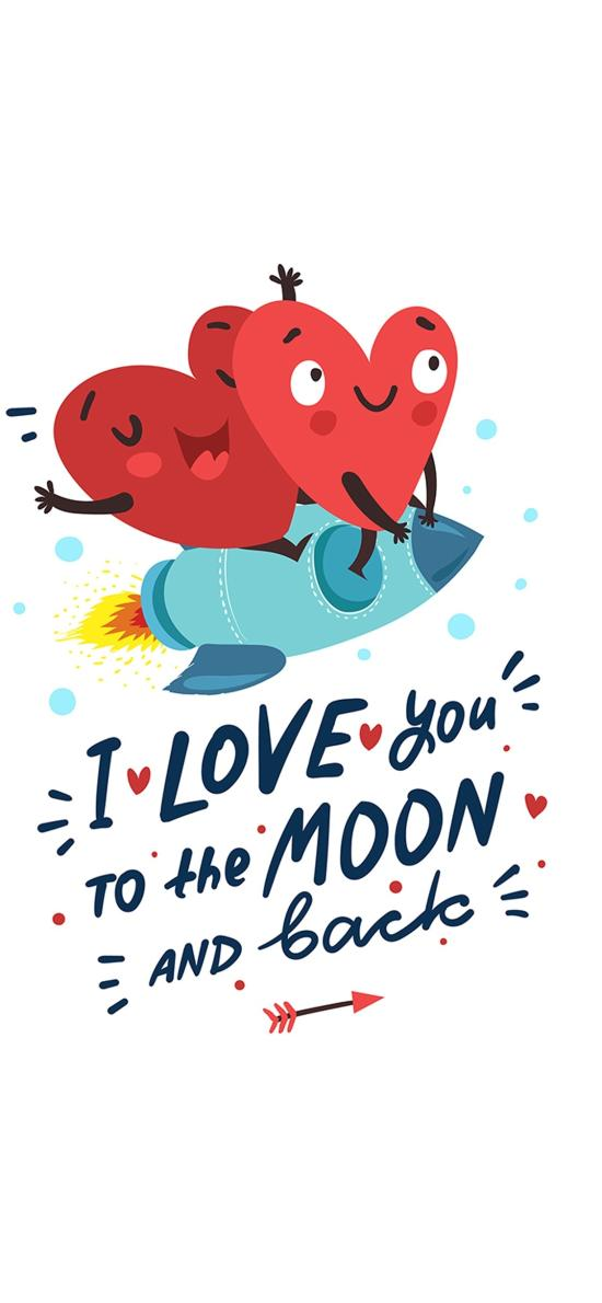 我愛你 愛心 火箭 愛情