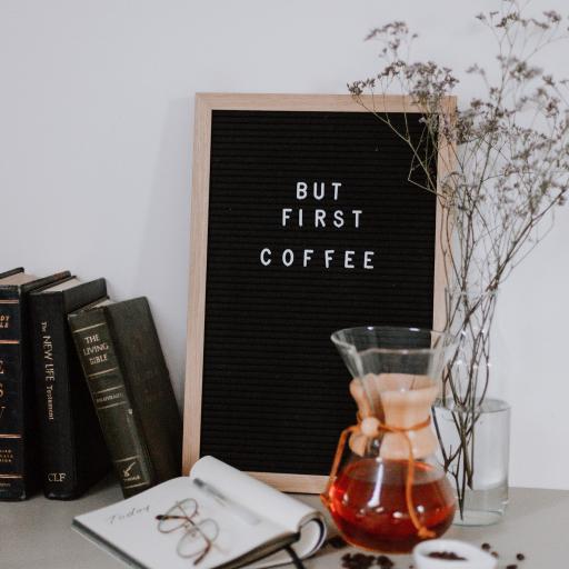 咖啡豆 咖啡壶 眼镜 静物