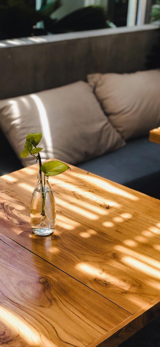 静物 沙发 绿植 花瓶