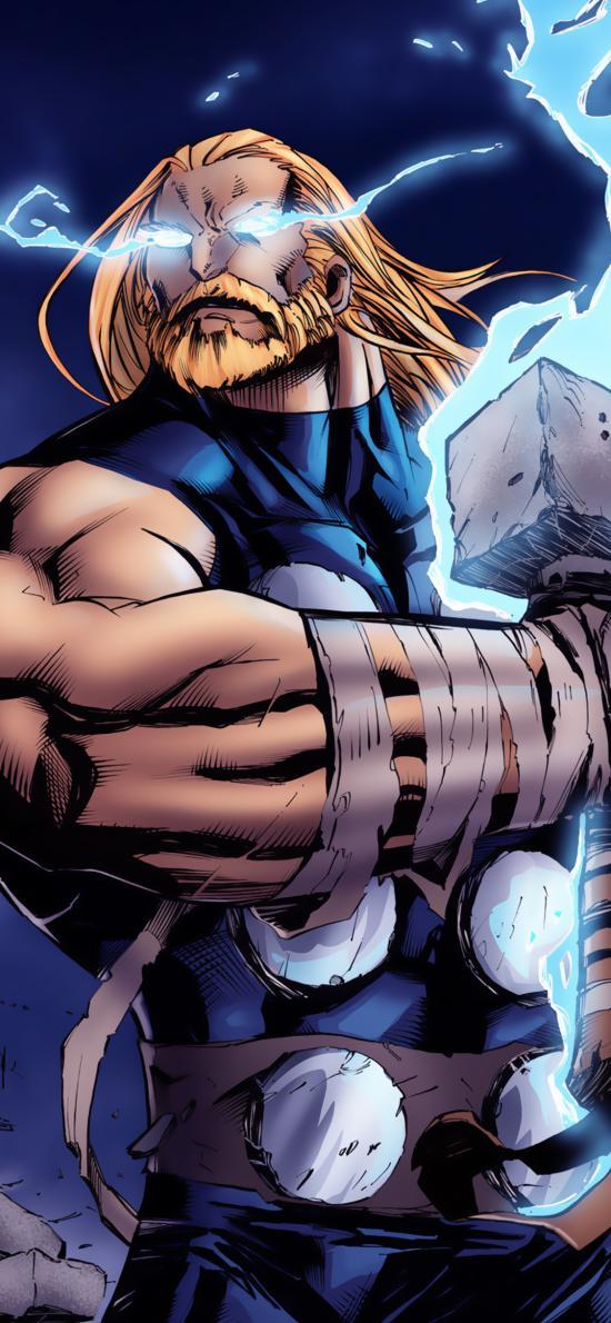 雷神 托爾 超級英雄 漫威 歐美