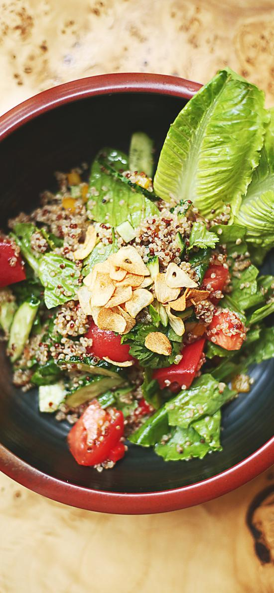 沙拉 蔬菜 素食 小番茄 料理