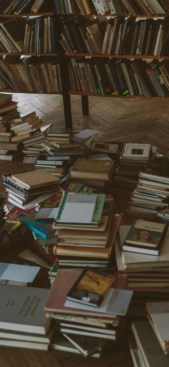 书籍 书本 堆放 图书馆 阅读