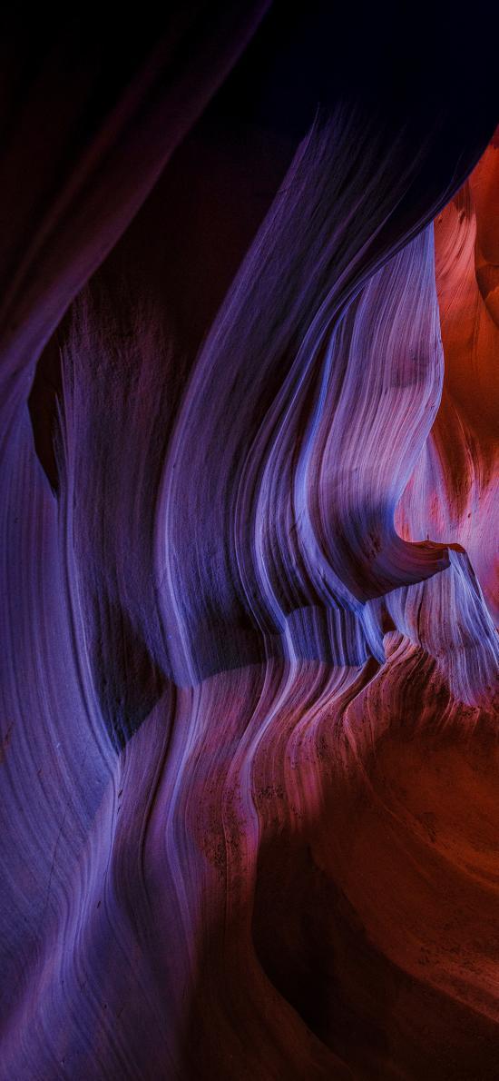 峡谷 条纹 系统 苹果