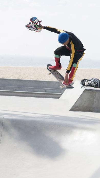 竞技 滑板 跳跃 场地