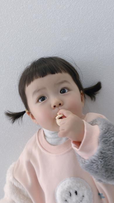 丸子妹 小女孩 可愛 萌 兒童
