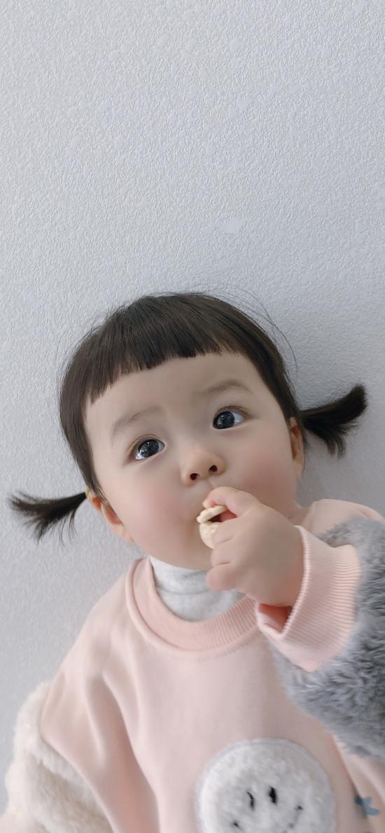 丸子妹 小女孩 可爱 萌 儿童