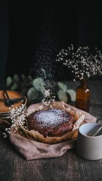 蛋糕 糖霜 甜品 烘焙 满天星