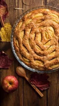 派 甜品 苹果 器皿