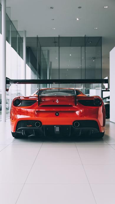 跑车 红色 豪华 交通