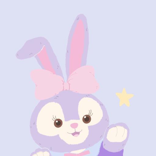 星黛露 紫色 迪士尼 兔子