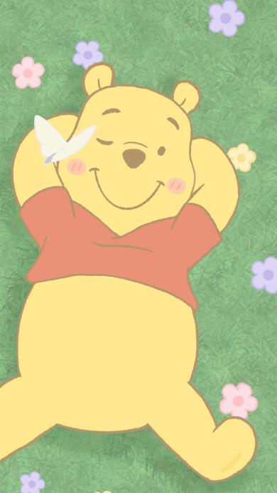 迪士尼 卡通 小熊维尼 可爱(取自微博:一颗萝卜胡)