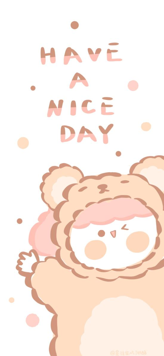 have a nice day 卡通 可爱