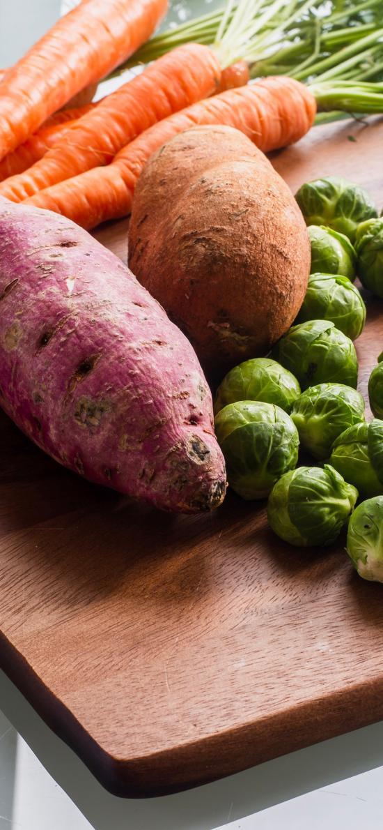 蔬菜 胡萝卜 番薯 土豆