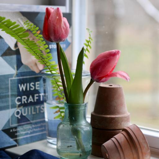 花瓶 鲜花 郁金香 花草