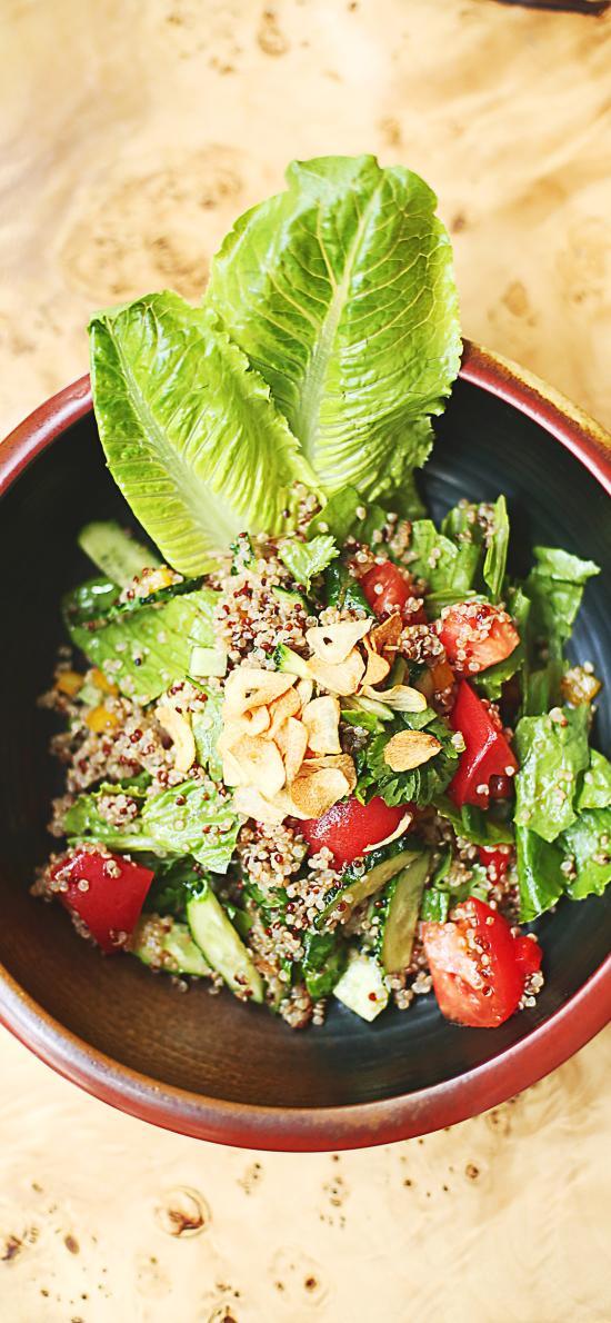 沙拉 水果 新鲜 蔬菜