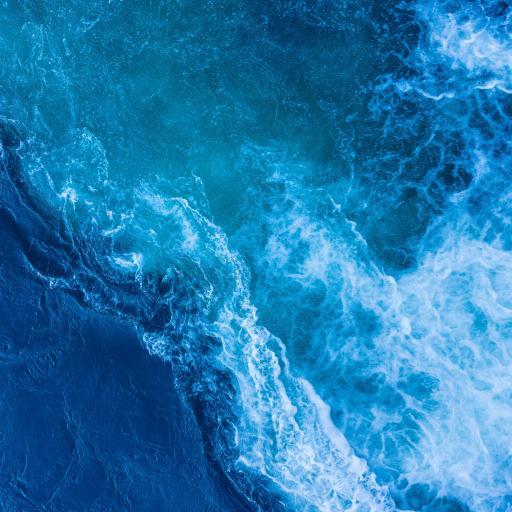 海浪 大海 藍色 海水