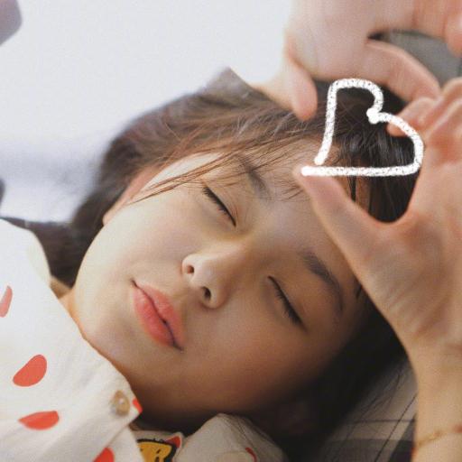 劉楚恬 小女孩 兒童 童星 小葡萄 愛心