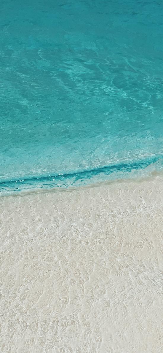 大海 海洋 海水 清澈 沙滩