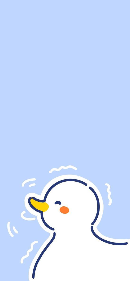 达可鸭 鸭子 可爱 卡通