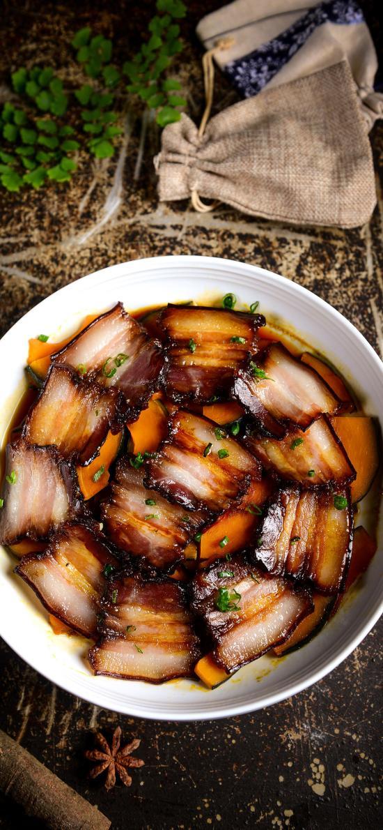 菜式 腊肉 熏肉 清蒸