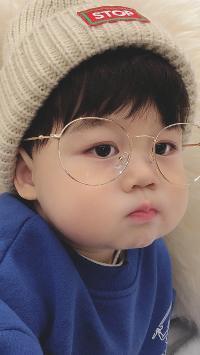李浠晗 小男孩 可愛 兒童 眼鏡