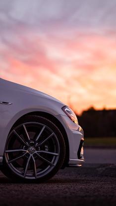 大众 轿车 汽车 车胎