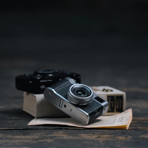 相机 静物 老式 书籍