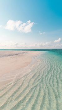 海岸 大海 沙滩 碧海蓝天