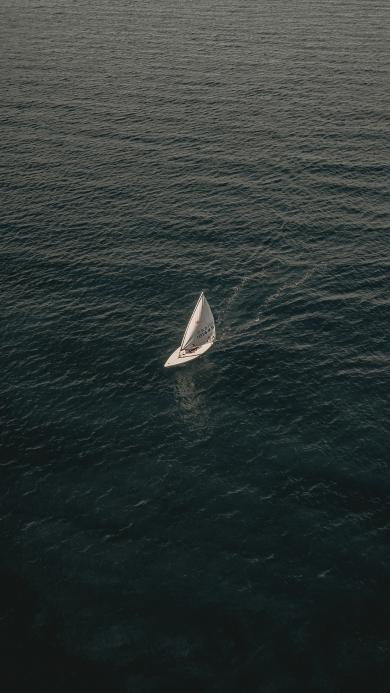 帆船 海洋 大海 行驶 运动