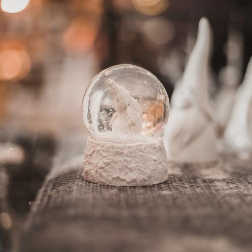 静物 摆件 装饰 雪球 玻璃球