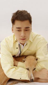 李易峰 演员 歌手 明星 狗狗