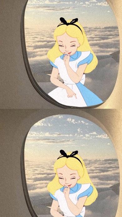 迪士尼 爱丽丝梦游仙境 公主
