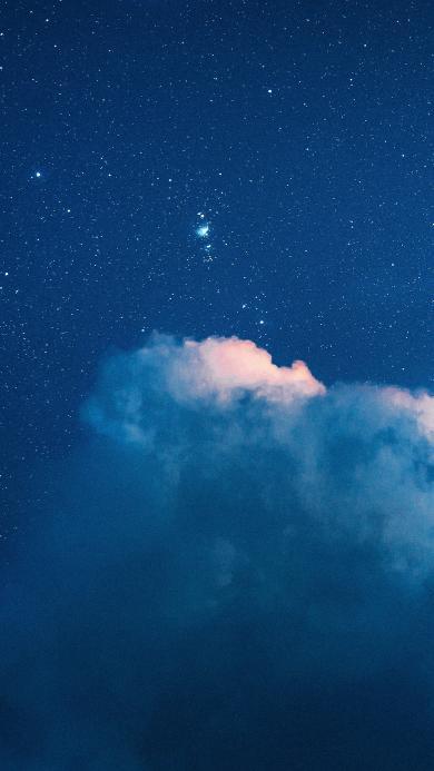云彩 夜晚 星空 星星