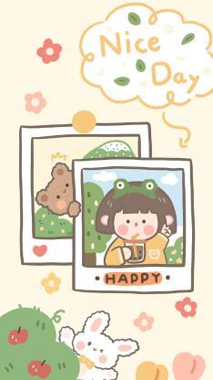 happy 女孩 黄 nice day 肉肉酱