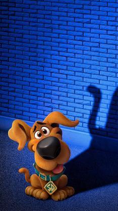 史酷比狗 电影 海报 影子