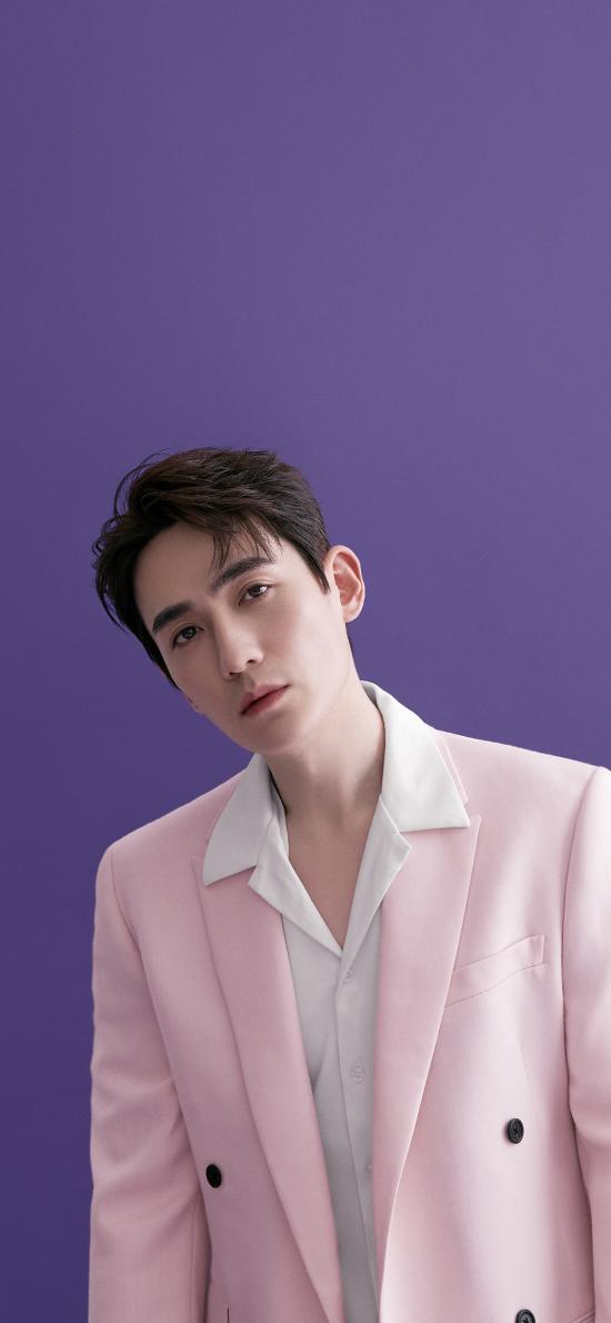 朱一龙 演员 明星 艺人 紫色