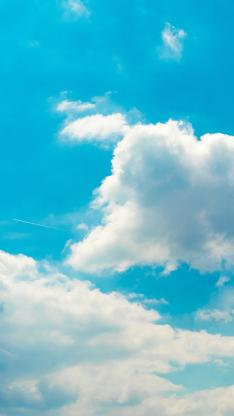 蓝天 云海 云彩 蔚蓝