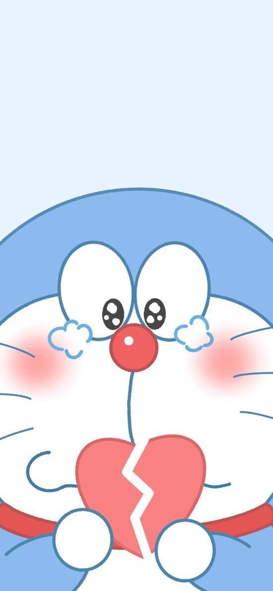 心碎 哆啦A夢 叮當貓 哭