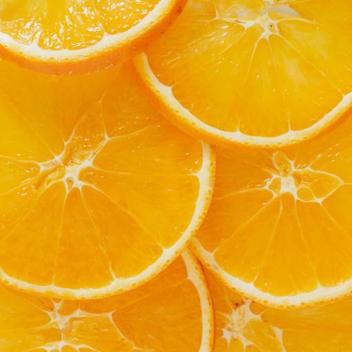 橙子 黄色 果肉 切片 水果
