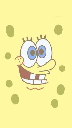 海綿寶寶 黃 動畫 五官 表情
