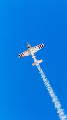 飛機 天空 蔚藍 噴氣式