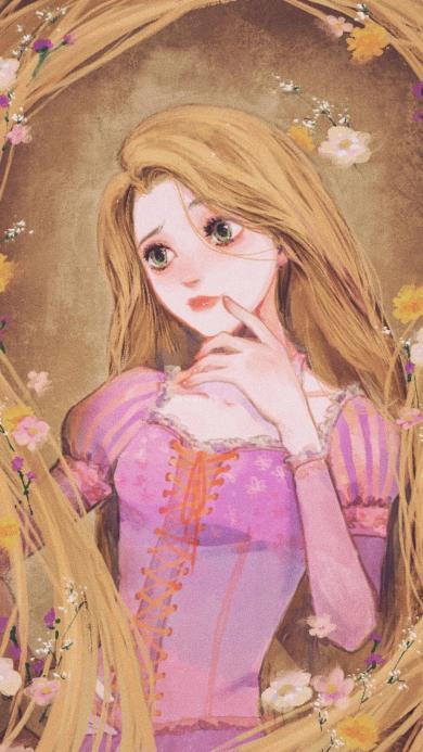 迪士尼 童话故事 长发公主