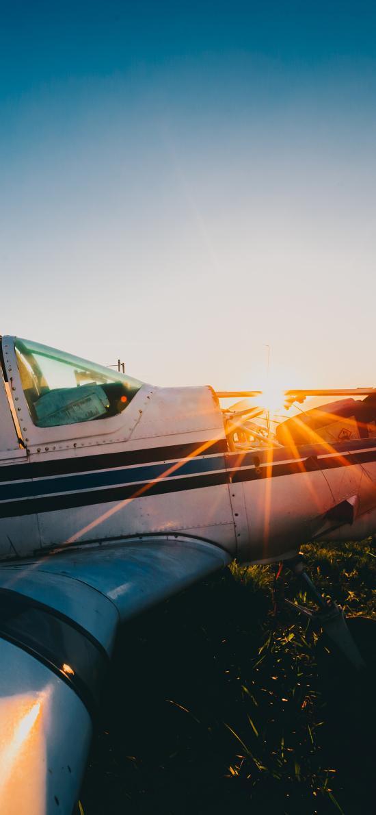 飞机 航空 战斗机 阳光