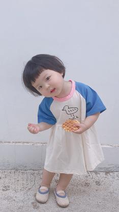 丸子妹 小女孩 童模 可爱 孩子 儿童