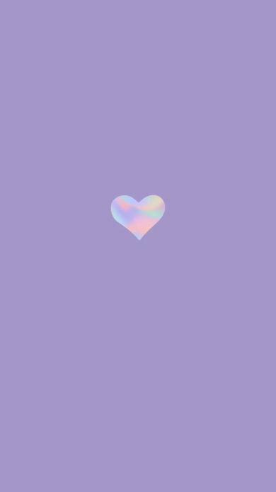 爱心 心形 紫色 爱情 浪漫