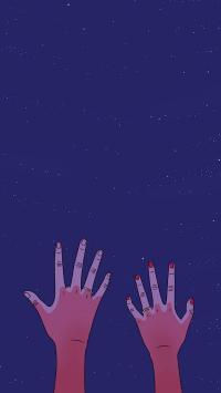 情侣 手 戒指 紫色 星空 爱情 浪漫